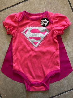 61092e9858c Super Girl DC Comic Two Piece  fashion  clothing  shoes  accessories   babytoddlerclothing