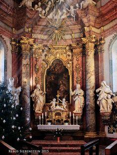 #DE #Neuzelle #KatholischePfarrkircheSanktMarien #Josephkapelle #Adventsschmuck
