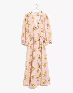 wedding guest dress summer mini Petite Dresses, Linen Dresses, Women's Dresses, Dress Outfits, Casual Outfits, Wrap Dress, Dress Up, Nordstrom, Pink Maxi