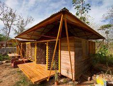 Casa de Bambu na Costa Rica