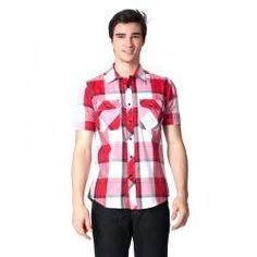 NEXT G  NKSA211102 MERAH  Rp 339,900.00 I www.fashionbiz.co.id Button Down Shirt, Men Casual, Mens Tops, Shirts, Fashion, Dress Shirt, La Mode, Fashion Illustrations, Fashion Models