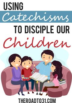 This has some detailed information about why and how to use a catechism during your family worship time. It would be great to use during family devotions to spark spiritual discussion with the kids. Get a FREE catechism printable too!