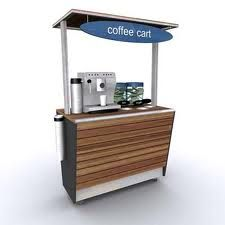 coffee cart - Google Search                                                                                                                                                                                 More