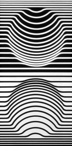 Graphics by Victor Vasarely.