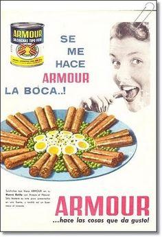 1961 Armour ad #vintage #ads #advertising #publicidad #gráfica