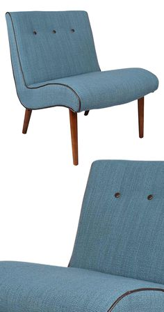 Unwind like never before in this cozy Vana Chair. With its delicately curved silhouette, this chair will allow for hours of continuous comfort. This mid-century–inspired design is upholstered with char...  Find the Vana Chair, as seen in the Eccentric Meets Rustic in Madison Collection at http://dotandbo.com/collections/eccentric-meets-rustic-in-madison?utm_source=pinterest&utm_medium=organic&db_sku=116358