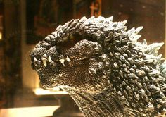 Close look at the new Godzilla! Godzilla Suit, Burlap Wreath, Movies To Watch, Monsters, Bb, Weird, Creatures, Japan, Cool Stuff