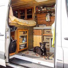 Diy camper van awesome ideas 44
