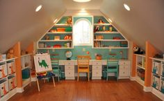 Fun & funky bonus room ideas for your home inspiration. #bonusroom #ideas