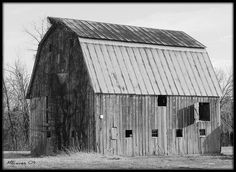 An old southern Illinois barn