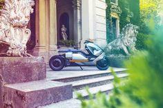BMW just unveiled the sleek electric motorcycle of the future