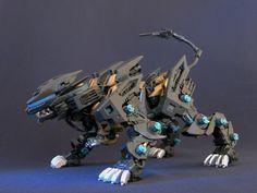 Liger zero agile Robot Concept Art, Weapon Concept Art, Zoids Genesis, Animal Robot, Sons Of Horus, Beast Machines, Mega Pokemon, Gundam Build Fighters, Gundam Custom Build