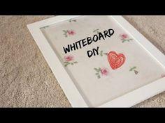 Make Your Own Whiteboard! | DIY - YouTube