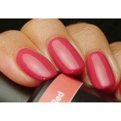 Get Pink Gellac 142 Coral Red Gel Nail Polish Colour at www.pinkgellac.co.uk