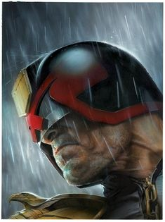 JUDGE DREDD Art by Greg Staples — GeekTyrant