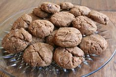 Peanut Butter and Chocolate Chip Teff Cookies (Dairy and Gluten and Free)
