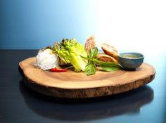 Raw Bar by Duncan Ly features an amazing Imperial Pork Spring Roll served with Lettuce Wraps and Glass Noodles. Pork Spring Rolls, Canadian Cuisine, Raw Bars, Thai Basil, Angus Beef, Bar Menu, Lettuce Wraps, Catering, Spicy