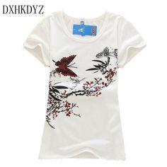 Print Loose Top Tees T-shirt | Furrple