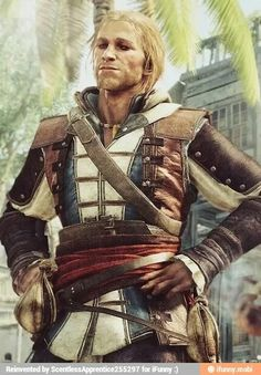 Edward Kenway. Assassin's Creed: Black Flag