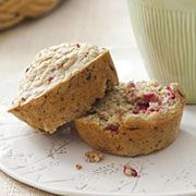 Dr Oz's Cranberry-Lemon Muffins. Paired with some yogurt and fruit, the perfect breakfast... each muffin is about 150 calories.