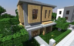 A post featuring 16 great examples of modern Minecraft house architecture. Gives you a taste of the creative things people manage to create just from a set of