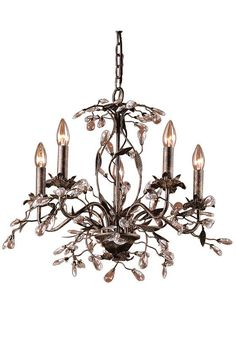 girly chandelier- would love my little girl to have something like this in her room
