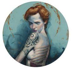 Como siempre flipando con las ilustraciones de Fernando Vicente, menuda manera de dibujar.