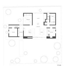 Niwa no SUMIKA (Casa Jardín) / mA-style architects,Planta 01