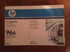 HP 96A Black Toner Cartridge C4096A Genuine NEW IN BOX (See description) #HP