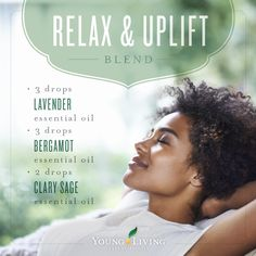 This Relax & Uplift diffuser blends smells amazing and creates a great uplifting aromatic environment. Combine 3 drops lavender essential oil, 3 drops bergamot essential oil, and 2 drops clary sage essential oil. Essential Oil Brands, Clary Sage Essential Oil, Bergamot Essential Oil, Essential Oil Diffuser Blends, Essential Oil Uses, Doterra Essential Oils, Doterra Diffuser, Aromatherapy Diffuser, Young Living Oils