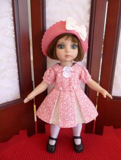 "1940's Style Outfit for Patsy 10"" Tonner Doll Ann Estelle by Apple"