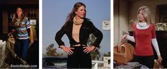 The Bionic Woman's wardrobe from Once A Thief 1977 #LindsayWagner
