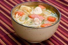 Sopa de pollo....para el alma...