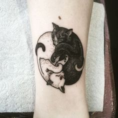 20+ Adorable Cat Tattoo Ideas That Are So Cute! - Page 3 of 3 - Trend To Wear