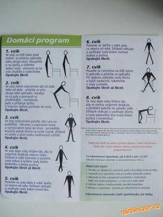 Cviky na posílení pánevního dna Dna, Tight Neck, Sciatica, Excercise, Back Pain, Ejercicio, Sport, Exercise Workouts, Workouts
