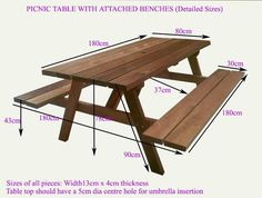 Awesome Woodworking Ideas, Woodworking Projects For Kids, Wooden Pallet Bar, Build A Picnic Table, Garden Table And Chairs, Small Wood Projects, Wood Table, Handmade Wood Furniture, Rustic Wood Furniture