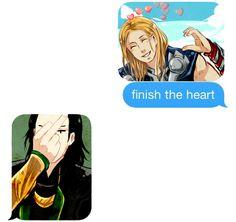 Finish the heart...