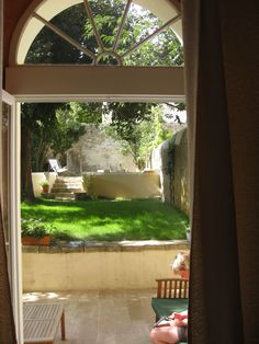 I love views from my room...  France again.