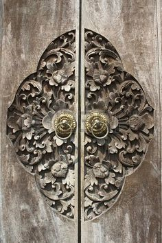 ornamental door pulls