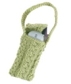 Intermediate Knitting Pattern: Cell Phone Cover | Red Heart