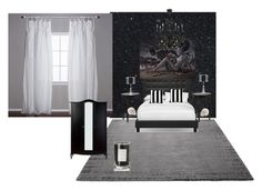 """my room"" by haley-abernethy on Polyvore featuring interior, interiors, interior design, home, home decor, interior decorating, ESPRIT, Unison, Giclee Gallery and Pom Pom at Home"
