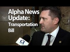 Alpha news catches up with Senator John Pederson of St. Cloud outside the State Senate Floor to discuss the proposed Transportation Bill.