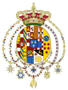 Kingdom of Two Sicilies Coat of Arms Bourbon, Two Sicilies, Family Shield, Banner, Family Crest, Crests, Coat Of Arms, Medieval, Two By Two