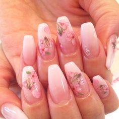 #nail #nails #jillandlovers #ネイル#ジェルネイル#gelnails#パラジェル#paragel#桜ネイル#春ネイル