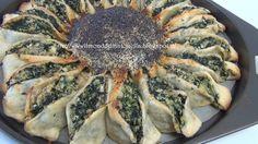 Il Bellissimo Mondo Di Antonella Decorating: Torta salata , girasole rustico con ricotta e spinaci