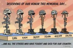I found this cartoon online.but what it doesn't include is the original reason Memorial Day to come into being. Memorial Day was originally known as Decoration Day (love that name!) and was originally a day of remembrance to honor those. Military Quotes, Military Humor, Military Life, Military Art, Usmc Quotes, Military Service, Usmc Humor, Marine Corps Quotes, Military Songs