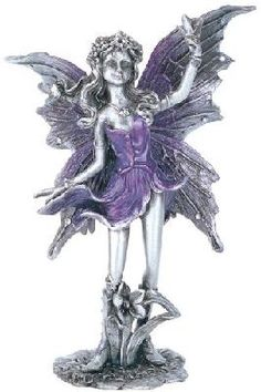 Fairy Collectible Pewter Decoration Figurine Sculpture