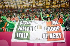 The group of Debt - Euro 2012 Euro 2012, European Championships, Republic Of Ireland, Debt, Spain, Football, Italy, Group, Sports