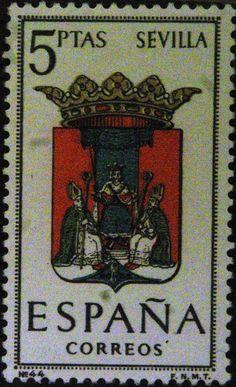 Sellos - Escudos Heráldicos - Sevilla