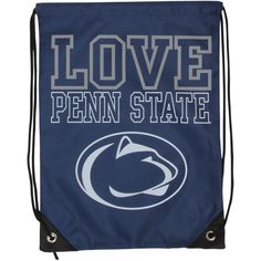 Penn State Nittany Lions Women's Love Drawstring Backpack - $9.99